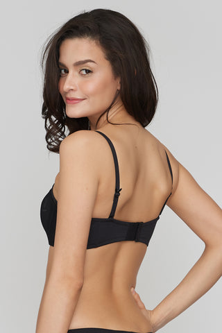 Luces'Y Sombras Strapless Bra Black