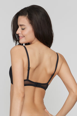 Love me pleated  Brassiere Demi Bra