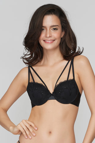 Black Magic Demi bra