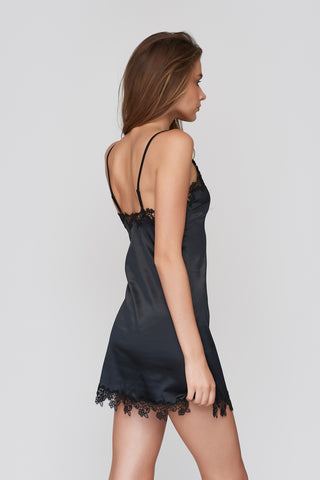 Harriet Slip & Babydoll Black