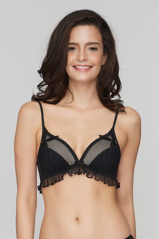 Love me pleated  Bralette