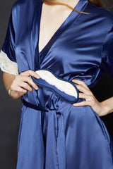Gillian Satin Robes