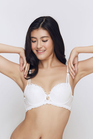 Playboy Intimates Bunny Charm Push Up Bra