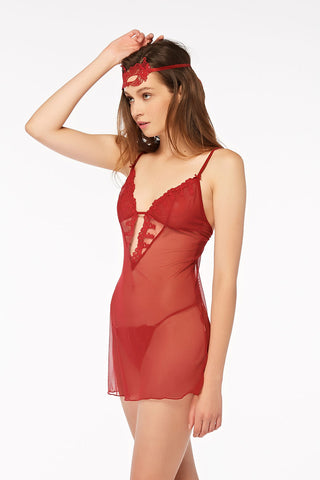Playboy Intimates Summer in Venezia Nightwear - Red