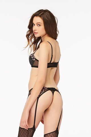 Playboy Intimates Rose Quartz Lace