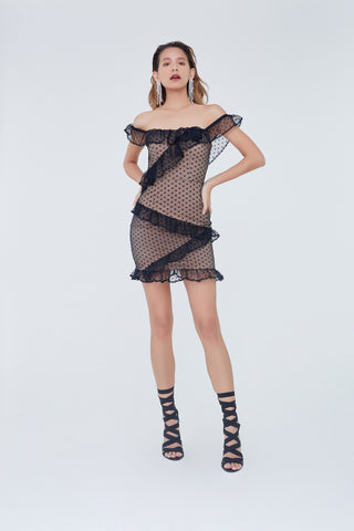 Mireya Dress Black
