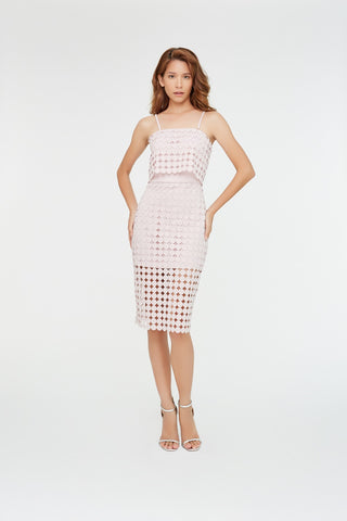 Signature Coin Lace Dress