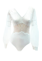Audrielle Bodysuit Off-White
