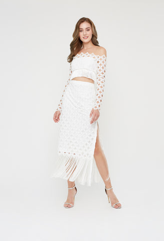 Diya Fringe Dress