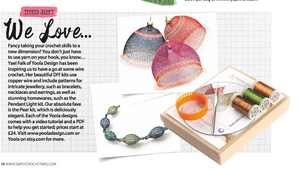 Simply Crochet Magazine Loves My Crochet DIY kits !
