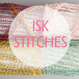 NEW stitches added to the ISK stitches library