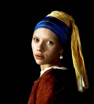 Girl with a Pearl Earring - DIY !