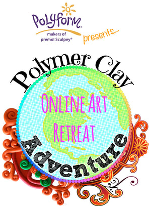 Polymer Clay Adventure 2017 ! I'm teaching here .... :)