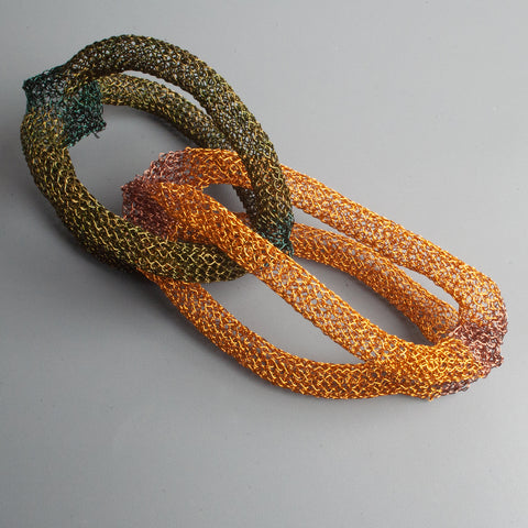 wire crochet chains