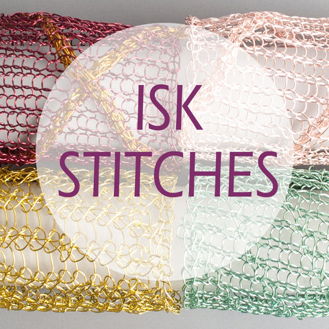wire crochet stitches library