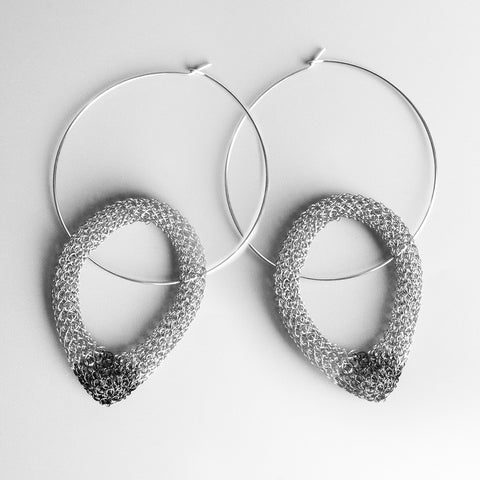 statement hoop earrings - Yooladesign