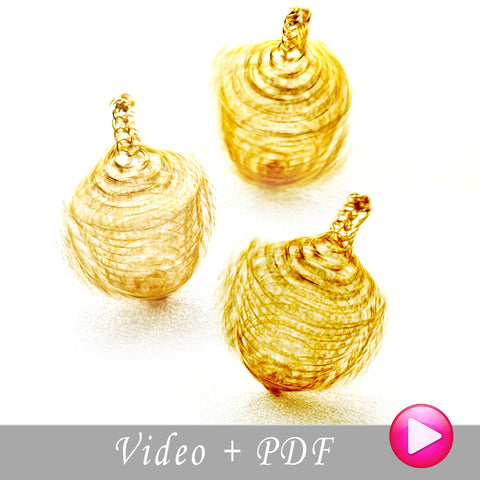 DIY wire crochet jewelry tutorial
