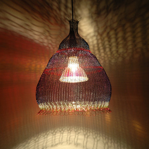 wire crochet home accent