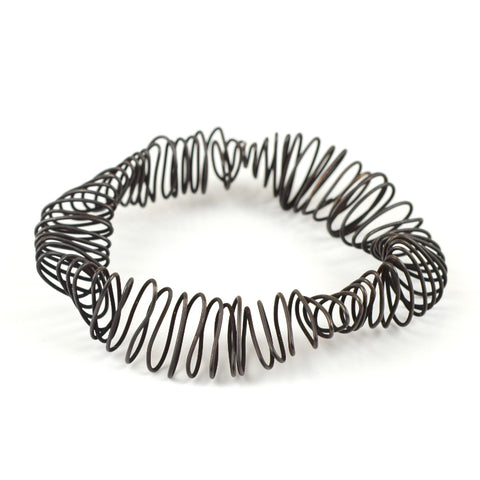 black wire bracelet by YoolaDesign