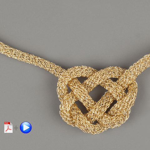 video instructions bold celtic heart knot