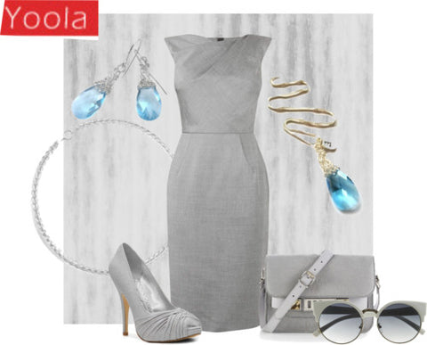 polyvore fashion set wire crochet jewlery by Yoola