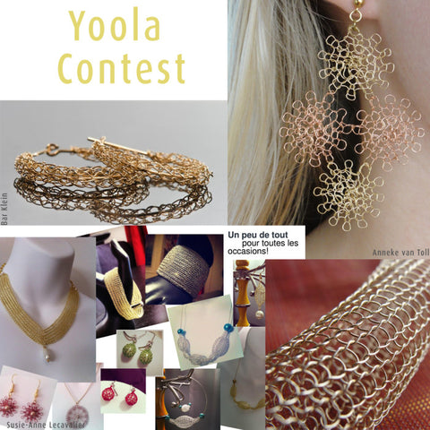 Wire Crochet contest Yoola
