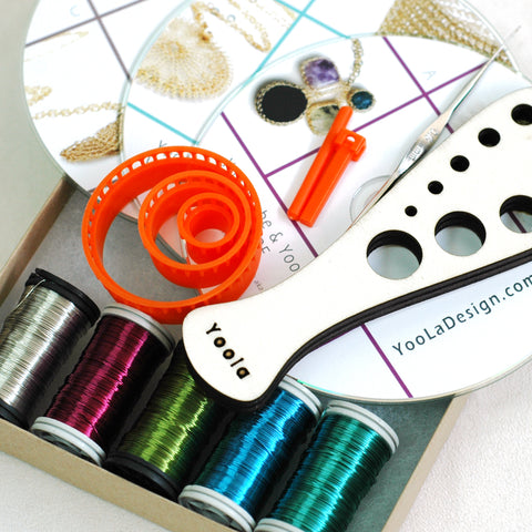 Jewelry DIY gift box WIre Crochet