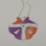 Wire crochet pendant - Yooladesign