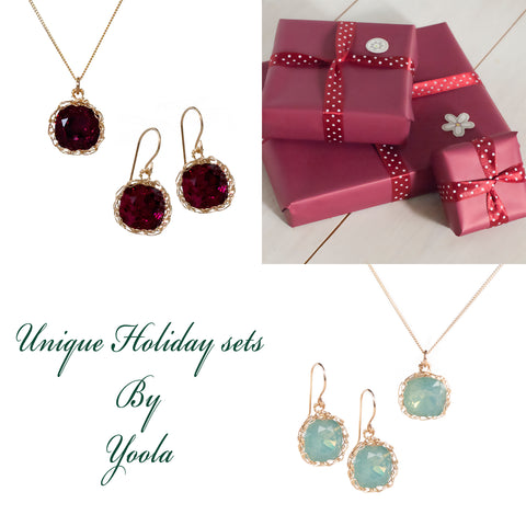 holidays gift jewlery wire crochet