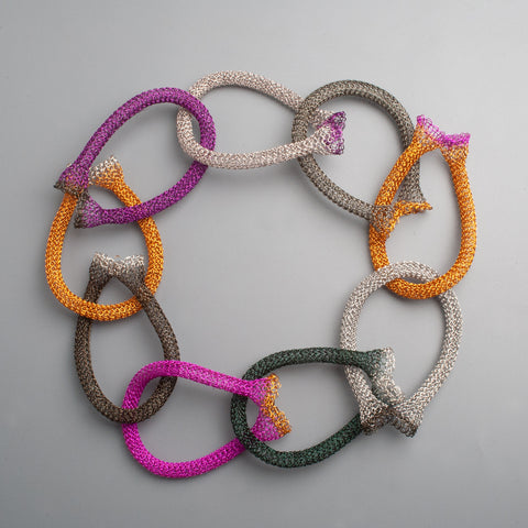 Wire crochet links chain