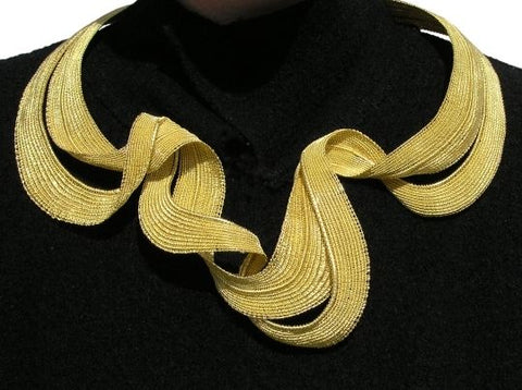 Mary Lee Hu gold necklace