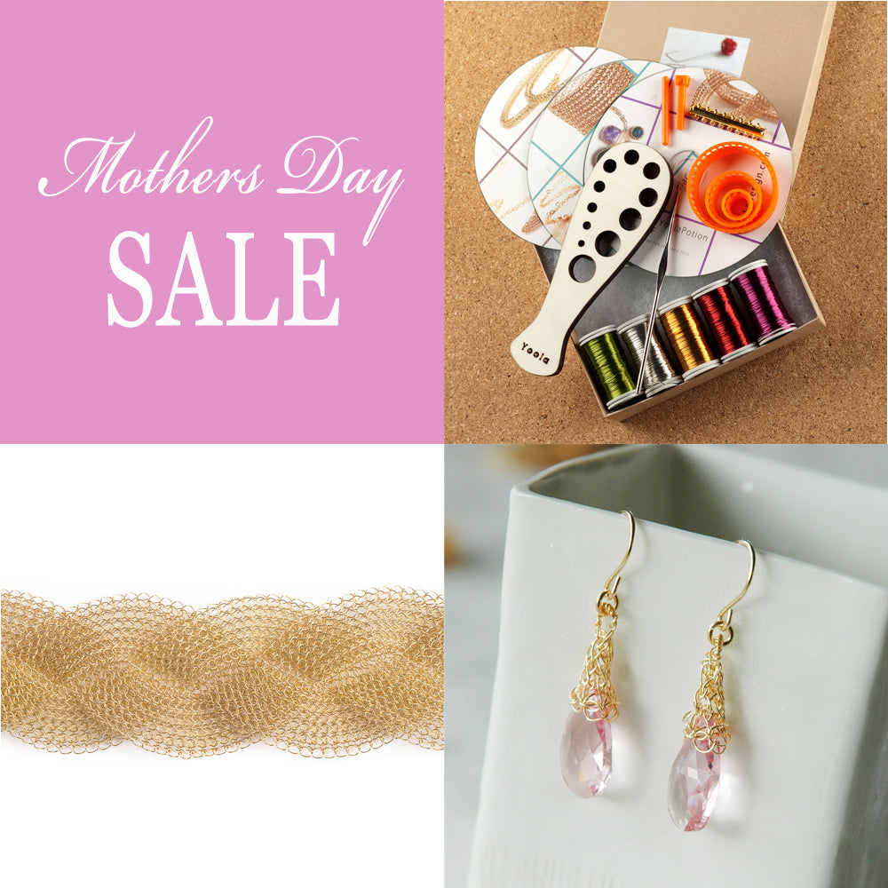 Mothers Day Gift Wire Crochet handmade Jewelry