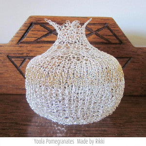 Wire Crochet New Year Gift