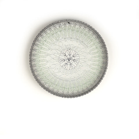 round wire work wall art
