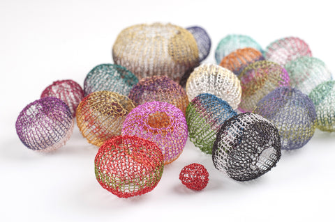 Ball Beads in magnificent colors