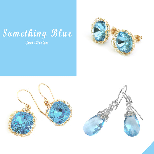 something blue jewelry