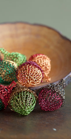 Wire Crochet Fall home accent