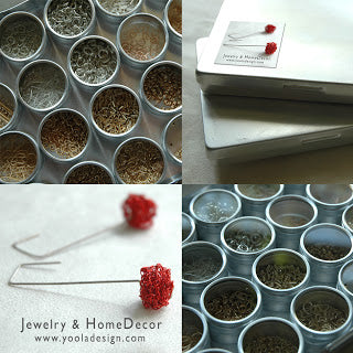 jewelry findings storing