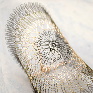 Wire Tatoo Mesh Bracelet - Yooladesign