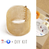 Crochet Bracelet DIY kit- YoolaDesign