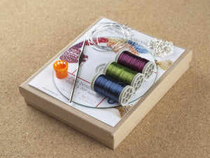 How to wire crochet Pixie beads - DIY kit - Yooladesign