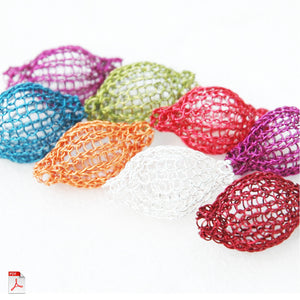 Round Ball Beads - Partial Crochet pattern - Yooladesign