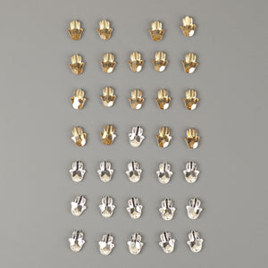 Swarovski crystals Hamsa lot clearance - Yooladesign
