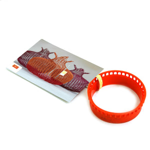 Wire crochet loom L , ISK invisible spool knitting starter tool - Yooladesign