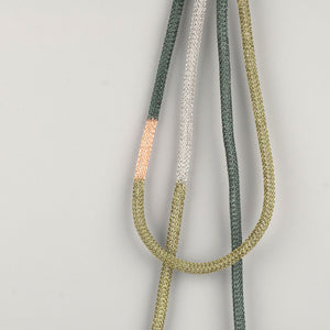 Long Statement Necklace , OLIVE and Green - Yooladesign