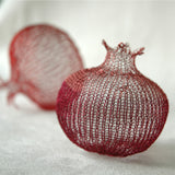 How to crochet a Wire Pomegranate , PDF pattern tutorial - Yooladesign