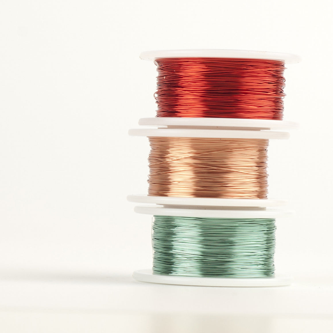 Craft Wire -  Spring 2016 colors - Extra long 3 spools - 120 feet each - Yooladesign