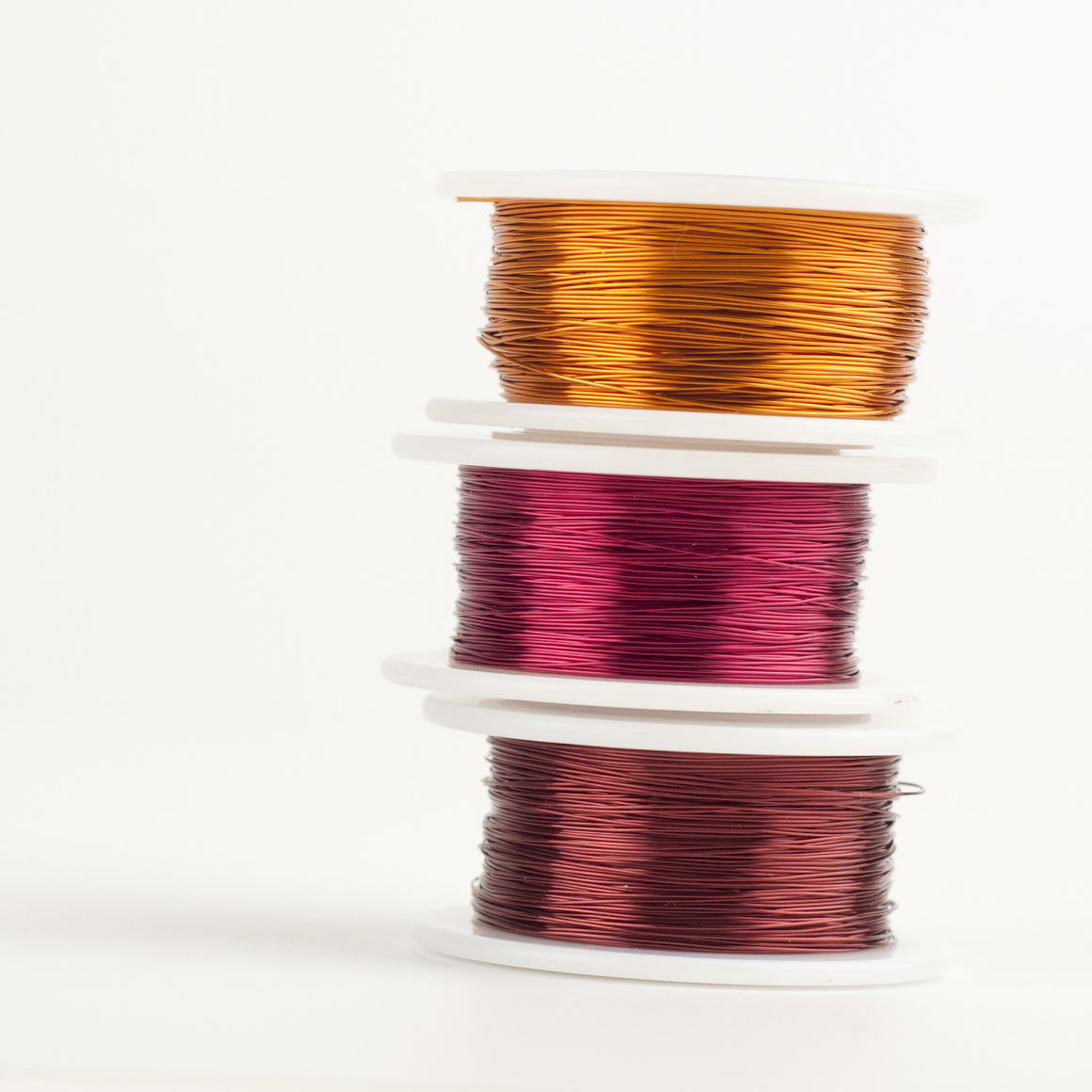 Craft Wire - SPicy colors combo - Extra long 3 spools - 120 feet each - Yooladesign