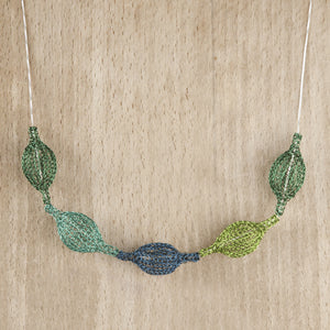 Wire Crochet Necklace - Cactus necklace - Yooladesign