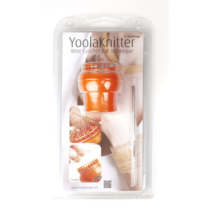 YoolaKnitter - Wire crochet knitter with automatic release - ISK knitter - Yooladesign